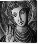 Head Of Buddha Canvas Print