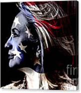 Hillary 2016 Canvas Print