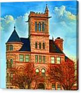 Historic City Hall Springfield  Mo Canvas Print