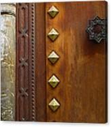 Historic Door Canvas Print