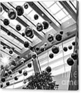 Holiday Glass Ornament Decorations At The Aria Resort And Casino Canvas Print