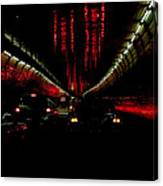 Holland Tunnel Lights Canvas Print