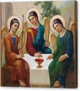 Holy Trinity - Sanctae Trinitatis Canvas Print