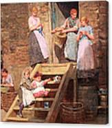 Homer's Sparrow Hall Canvas Print