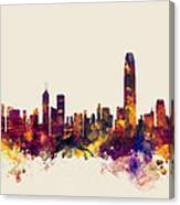 Hong Kong Skyline Canvas Print