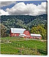 Hood River Canvas Print