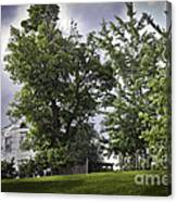 House On The Hill 3 Canvas Print