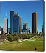 Houston, Texas - High Rise Buildings Canvas Print