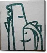 Hugs - Tile Canvas Print