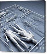 Human Cloning Canvas Print