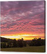 Hunting Dawn Canvas Print