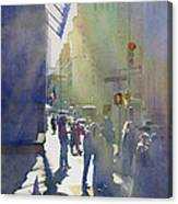 I Saw The Light At 44th And Broadway Canvas Print