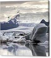 iceland Jokulsarlon Canvas Print