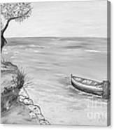 Il Pescatore Solitario Canvas Print
