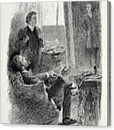 Illustration From The Picture Of Dorian Canvas Print