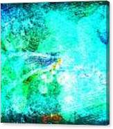 Impressionist Blue Canvas Print