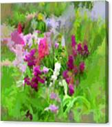 Impressions Of Spring Canvas Print