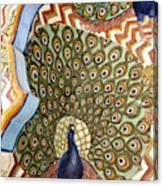India, Rajasthan, Jaipur, City Palace Canvas Print