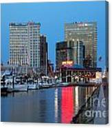 Inner Harbor Canvas Print