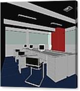 Interior Office Rooms Canvas Print