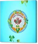 Irish Canadian Canvas Print