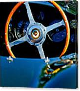 Jaguar Steering Wheel Canvas Print