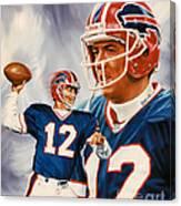 Jim Kelly Canvas Print