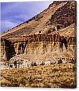 John Day Fossil Beds Nations Monuments Canvas Print