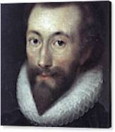 John Donne (1572-1631) Canvas Print