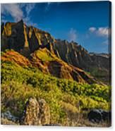 Kalalau Valley Canvas Print