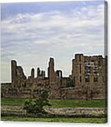 Kenilworth Castle Panorama Canvas Print