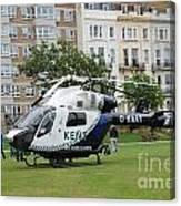 Kent Air Ambulance Canvas Print