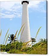 Key Biscayne Lighthouse Canvas Print