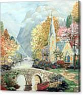 Kincade Study Canvas Print