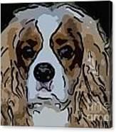 King Charles Art Canvas Print