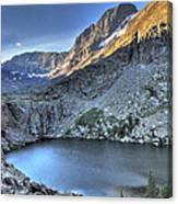 Kit Carson Peak And Willow Lake Canvas Print