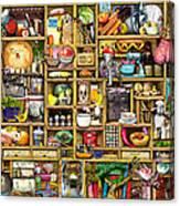 Kitchen Cupboard Canvas Print