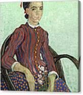 La Mousme Canvas Print