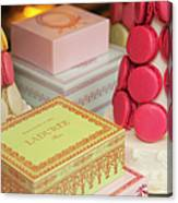 Laduree Sweets Canvas Print