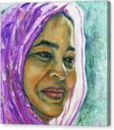 Lady From Bangladesh Canvas Print