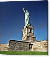 Lady Liberty 2 Canvas Print