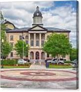 Lake City Courthouse Canvas Print