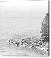 Lake Tahoe Rocky Point Canvas Print