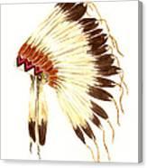 Lakota Headdress Canvas Print