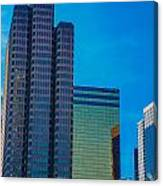 Landmark Buildings Canvas Print