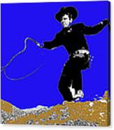 Lash Larue Bull Whip Publicity Photo Canvas Print
