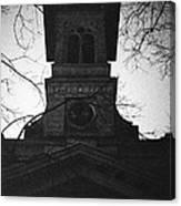 Lausanne Noir Canvas Print