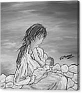 Legame Continuo Canvas Print