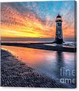 Lighthouse Sunset Canvas Print