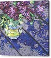 Lilacs Canvas Print